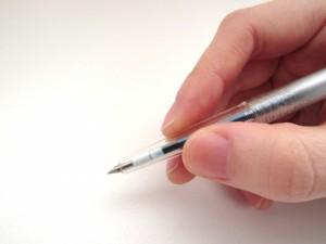 字が上達する方法は?下手な原因や上手になる練習って?
